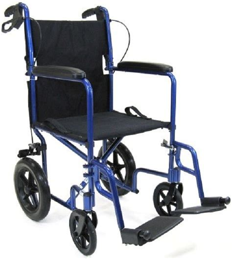 ultra light weight transport wheelchair