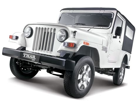 mahindra jeep thar mahindra thar