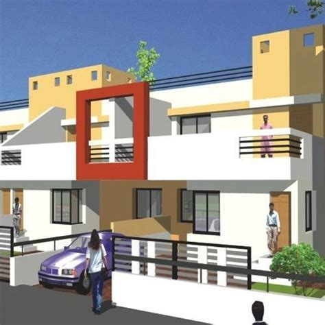 3d Models Buildings  3d Model For Row House Service