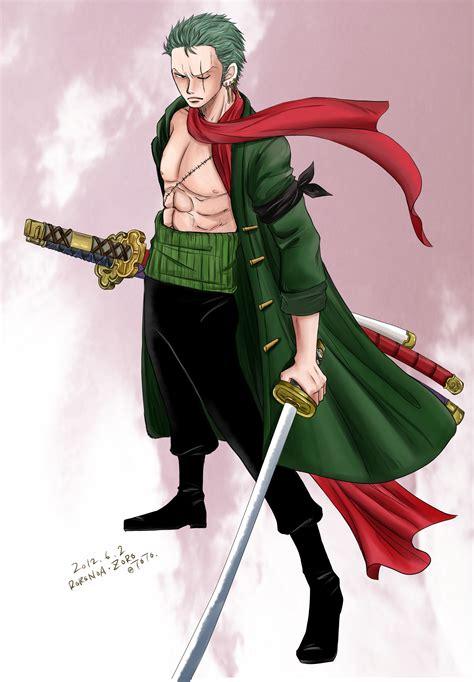 roronoa zoro solo page  zerochan anime image board