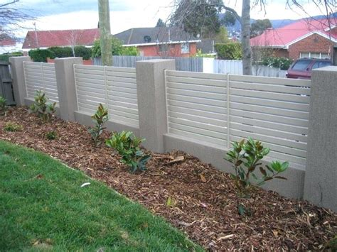 front garden fence ideas uk