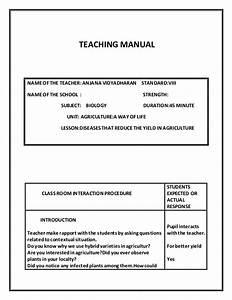 Teaching Manual 1