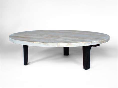 Beautiful White Round Coffee Table