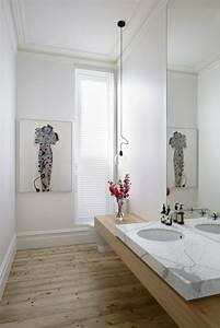 Waschbecken Auf Tisch : waschtisch aus holz f r mehr gem tlichkeit im bad ~ Michelbontemps.com Haus und Dekorationen