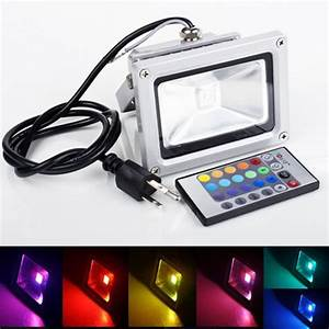 W rgb color changing high power led flood light