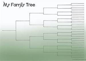 blank family tree chart template geneology pinterest With template for a family tree chart