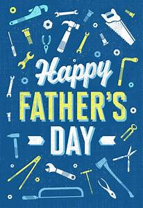 Retro Working Tools - Free Fathers Day Card | Greetings Island