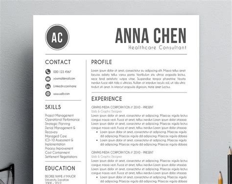 14914 modern business resume 25 best ideas about modern resume template on