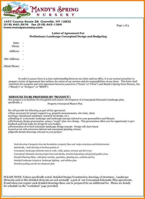 proposal contract proposal template teplates   day