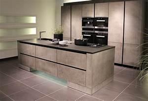 Küche In Betonoptik : leicht k chen beton ~ Michelbontemps.com Haus und Dekorationen