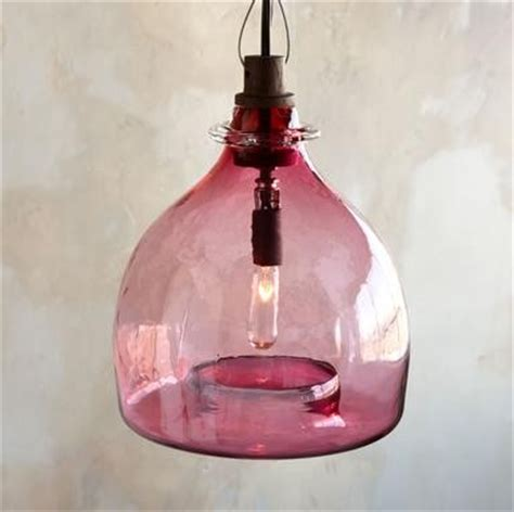 rivendell glass pendant chandelier pink contemporary
