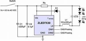 Chip Led 7730 Diagram