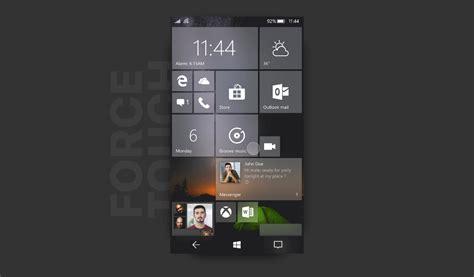 ویندوز 10 موبایل با طعم طراحی فلوئنت و تغییرات اساسی وینفون