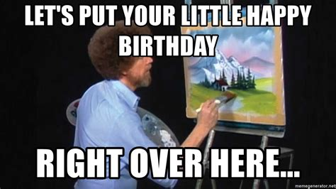 Let's Put Your Little Happy Birthday Right Over Here