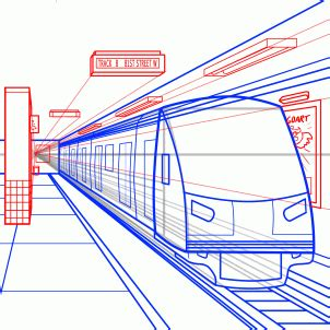 jak narysowac metro krok po kroku rysowanie metro