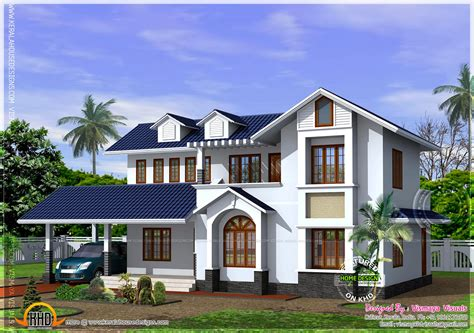 Kerala Style House With Free Floor Plan  Kerala Home