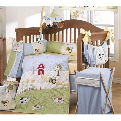love    farm  piece crib bedding set