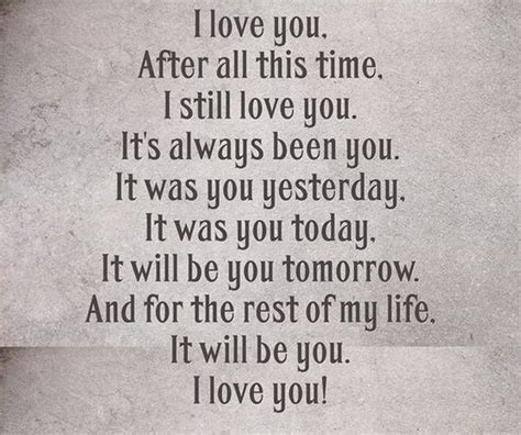 I Will Always Love You Husband Quotes