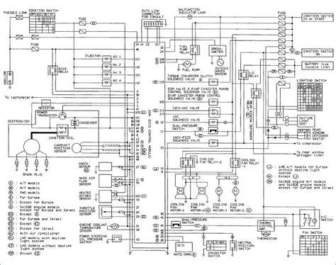 nissan ga15de wiring diagram dogboi info