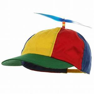 Adult Beanie Copter Helicopter Propeller Hat Ball Cap