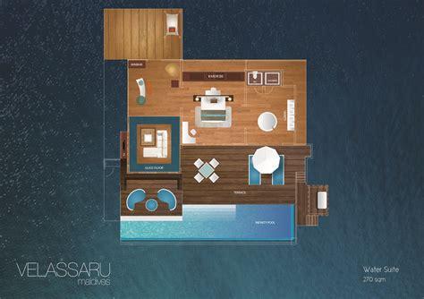 maldives water villas luxury water suite  velassaru maldives