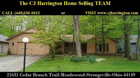 Homes For Sale In Strongsville Ohio by Clevelandoh Homes For Sale 21631 Cedar Branch Trl 44149