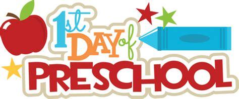 title one preschool 1st day of preschool svg scrapbook title crayon svg file 911