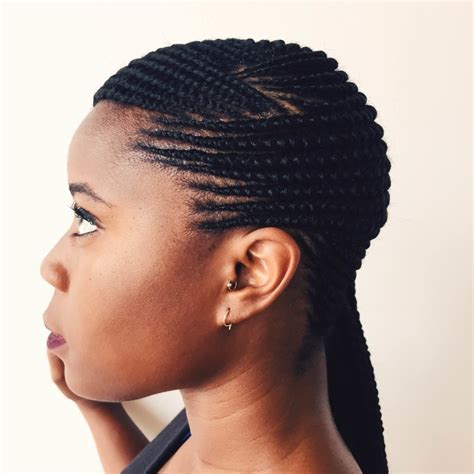 Make sure you use a volumizing mousse to help maintain the look! 15 Best Collection of Straight Up Cornrows Hairstyles