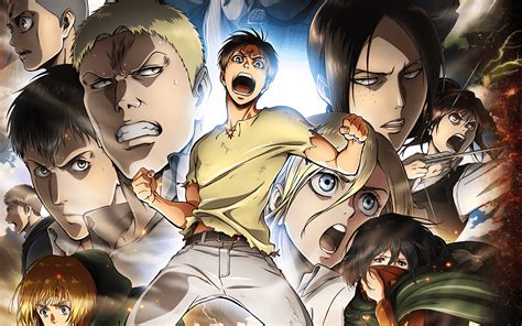 shingeki  kyojin season  hd wallpaper background