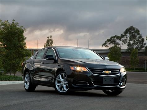 Best New Car Warranties 2015 by 15 Best Family Cars 2015 Chevrolet Impala Kelley Blue Book