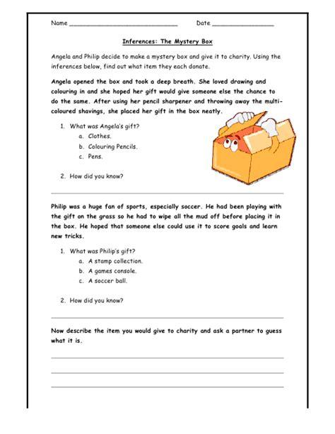 make inferences worksheet worksheets for all
