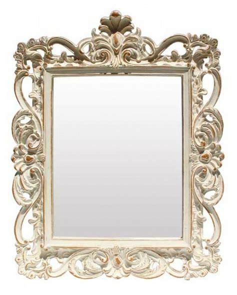 Decorative Mirror - square antique style grand trianon shabby decorative