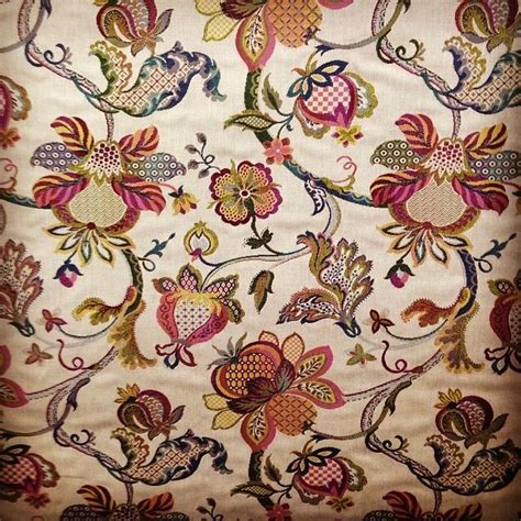 jacobean floral curtain fabric jacobean tapestry curtain upholstery fabric curtains