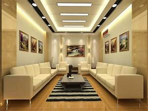 Home modern decoration, high ceiling living room design
