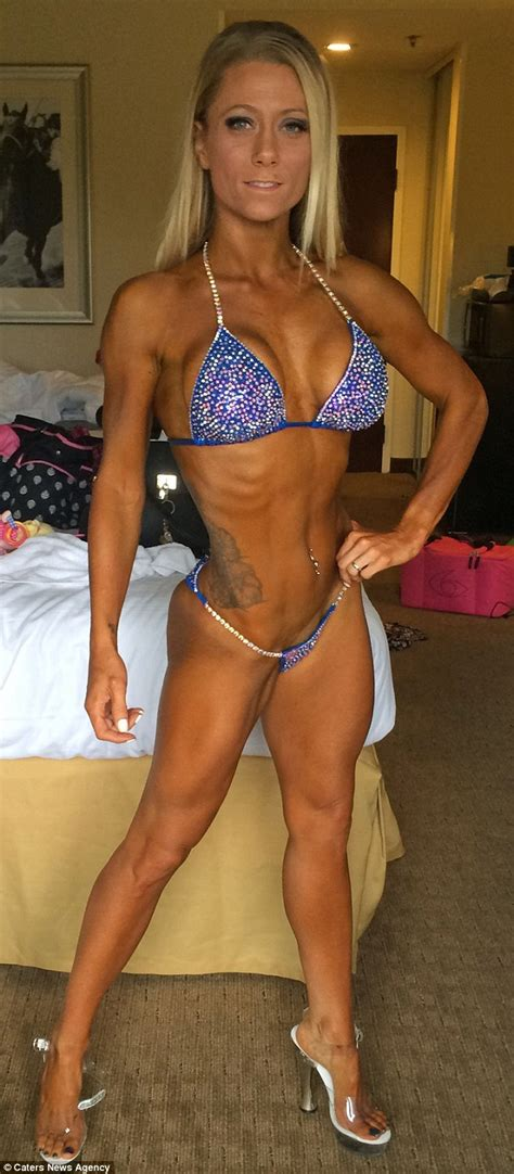 fitness bikini hot heather mowry says pressure of competing after gave her