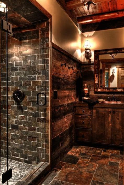 Pics Of Rustic Bathrooms by Country Master Bathrooms Rustic Bath Board New Home