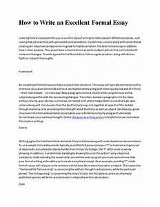 formal essay on global warming