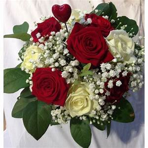 Fleur Rose Et Blanche : bouquet de rose blanche et rouge fleurs exotiques noms euroseconde ~ Dallasstarsshop.com Idées de Décoration