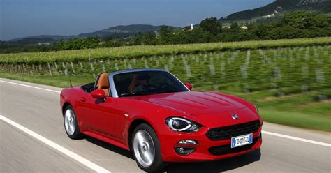 Who Make Fiat by Fiat 124 Review Convertible Will Make You A Spider Fan