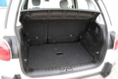 adac test siege auto opel meriva kofferraum mobil antik