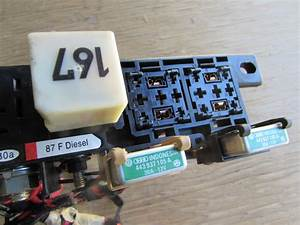 Audi Tt Mk1 8n Fuse Relay Box Holder Assembly Plate