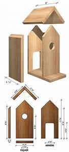 Plan Nichoir Oiseaux : plans pour fabriquer un nichoir pour les oiseaux je jardine ~ Melissatoandfro.com Idées de Décoration