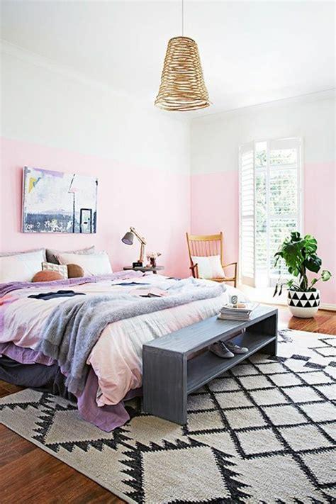 peindre une chambre en deux couleurs nos astuces en photos pour peindre une pièce en deux