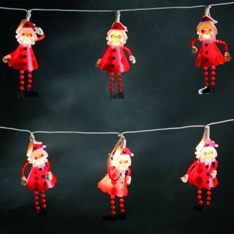 konstsmide santa lights 10 santas with 20 bulbs