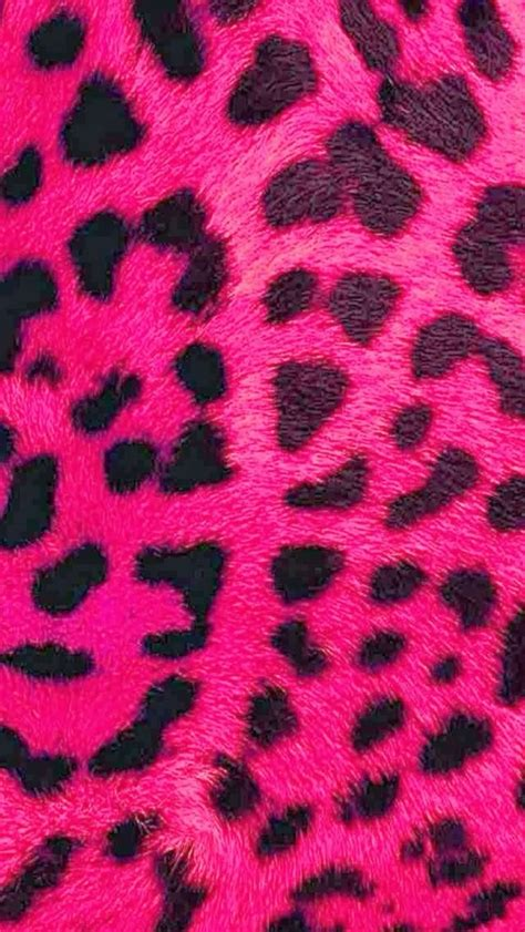 Animal Print Wallpaper For Phone - pink leopard print iphone wallpaper background printz