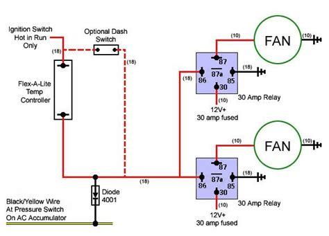 imperial electric fan relay wiring diagram electric fan