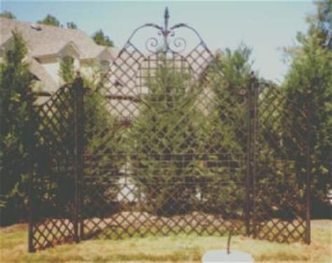 Ornamental Garden Trellis by Miscellaneous Metal Projects By Coble Metal Works Inc