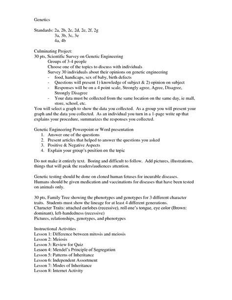images  genetics problems worksheet  answer