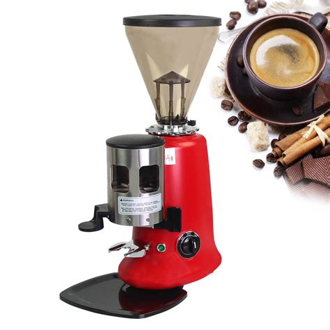This coffee burr grinder offers a generous forty different options. Commercial Electric Houshold Conical Burr Coffee Grinder High Quality Coffee Appliance Advanced ...