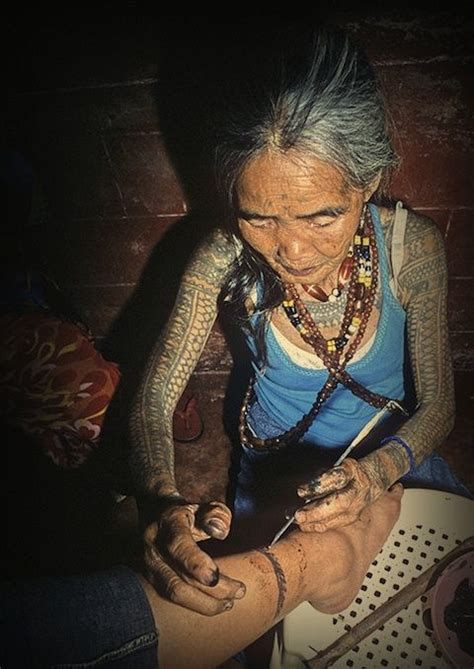 Whangod Tattooing Traditional Kalinga Tattoos From Lars